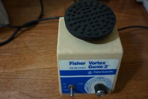 Fisher Genie 2 Vortexer Vortex Shaker Mixer Used Lab Rotator Mini Touch Vb Ln