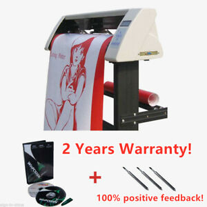 High Quality 24 Redsail Vinyl Sign Cutter With Contour Cut Function