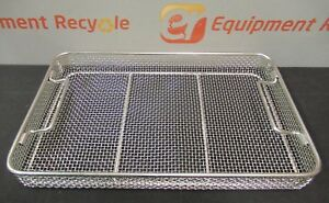 Aesculap Surgical Stainless Sterilization Basket Tray Sterilcontainer 16 x10 x2
