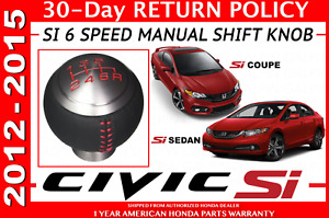 New Genuine Honda Civic Si 6 Speed Shift Knob 54102 tr7 a01za
