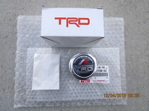 Fits 03 12 Toyota 4runner Trd Performance Oil Filler Cap Japan Version New