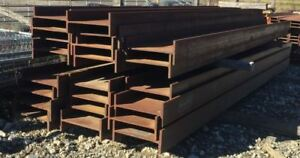 lot Of 22 Astm A992 a572 50 Chapparal Steel Wide Flange Beams 010 2181604