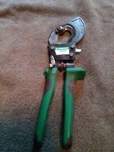 Greenlee Ratcheting Cable Cutter 45206