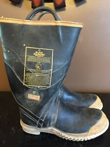 Black Diamond Firefighter Turnout Boots Size 13 Medium Mens