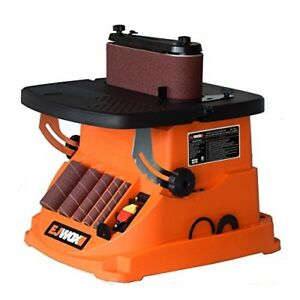 Ejwox 2 In 1 Oscillating Edge Belt And Spindle Sander For Wood Shop