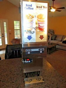 Karma 850 Commercial H d Refrigerated Iced Coffee Juice cold Beverage Dispenser