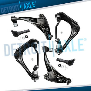 2002 2003 Explorer Mountaineer Front Upper Lower Control Arms Outer Tierods
