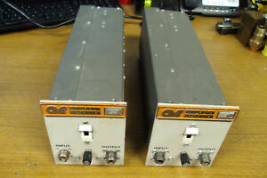 2 Amplifier Research Rf Amplifiers 10w Ar 10ha 220 To 400mhz Ar10hb 300 500mhz