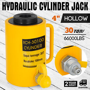 30ton 4 Stroke Hollow Hydraulic Cylinder Jack Bending Industrial Durable
