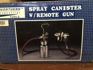 Spray Gun With Remote 2 Quart Canister Pressure Pot System