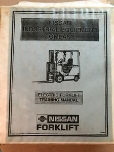 Nissan Electric Forklift M01 M02 Training Manual