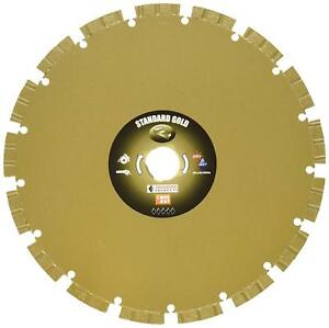 Diamond Products Core Cut 11707 8 in By 0 095 By 7 8 in Standard Gold Blade