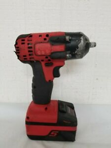 Snap On 3 8 18v Electric Impact Wrench With Battery Ct8810a