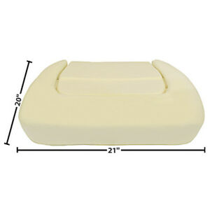 1970 1974 Challenger Front Bucket Seat Bottom Cushion Dynacorn 6029a
