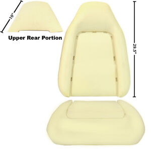 1970 1974 Challenger Front Bucket Seat Back Bottom Cushions 3 Pieces Dynacorn