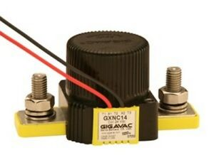Gigavac Gxnc14ca Normally Closed Contactor 24 Vdc Coil 350 Amps