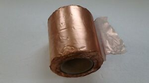 10 6 Lb Roll Copper Wire Cloth Screen Mesh 6 Wide Cp160 1