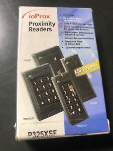 Kantech Ioprox Xsf Format P325xsf Proximity Reader Access Control Single Gang