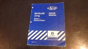 New Holland Tr88 Combine Electrical Service Manual Bn27