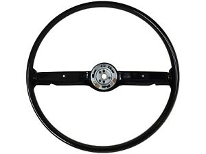1968 69 Ford Mustang 1968 Mercury Cougar Reproduction Steering Wheel Black