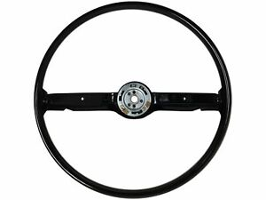 1968 1969 Ford Mustang Reproduction Steering Wheel Black