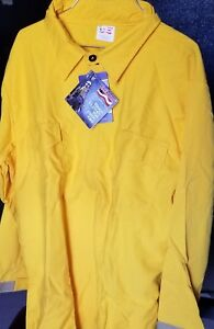 Wildland Fire Fighter Shirt 2x Large 7 0 Oz Tecasafe Plus Yellow Wls0317 2xlg
