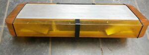 Whelen Edge 9000 28 Light Bar Amber Tested And Complete