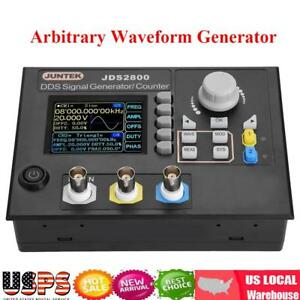 Jds2800 Ac100 240v Dds Dual channel Signal Generator Arbitrary Waveform Source