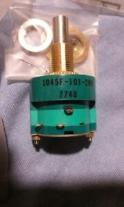 8pcs Asm Electroswitch 8 Position Enclosed Rotary Switch