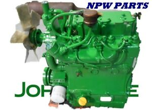 Good Used John Deere 850 Yanmar 3t80 j Engine