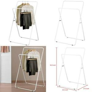 Mygift 56 inch Folding Metal A frame Garment Display Rack Retail Clothing Stand