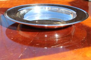 Christofle Albi Silver Plated Small Presentation Baby Plate