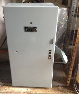 Westinghouse Double Throw Transfer Switch 200 Amp Xu 264 600 Volt 2 Pole