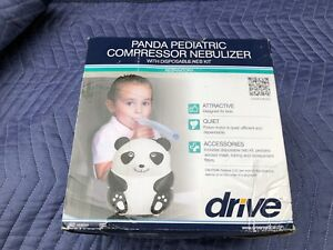 Drive Medical Mq6004 Panda Pediatric Compressor Nebulizer W disposable Neb Kit