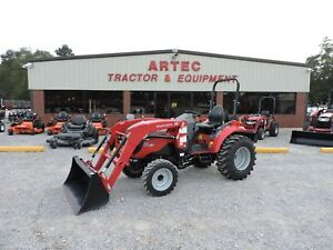 2017 Mahindra 1533 Tractor With Loader 4wd Good Condition