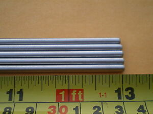 20 Pcs Stainless Steel Round Rod 304 5 32 156 4mm X 13 Long