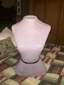 Vintage Body Dress Form Mannequin 21 Tall