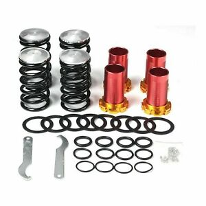 Silver Lowering Coilovers Spring Kits High Performance For Honda Civ