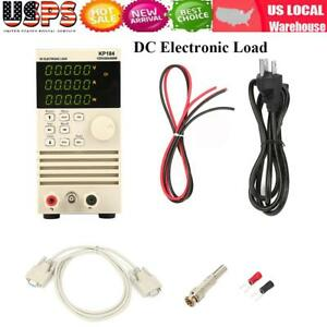 Programmable Dc Electronic Load Battery Tester Rs485 232 400w 150v 40a Ac110 Usa