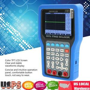 Portable Digital Storage Oscilloscope 2ch 30mhz 250msa s With 6000 Multimeter Us