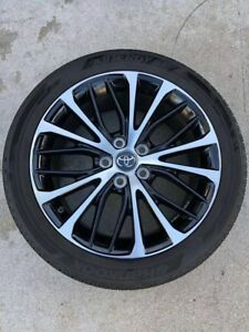 18 Toyota Camry 2018 Oem Wheel Rim Tire Se Le Avalon Great Condition