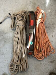 Buckingham 1329d Arborist Tree Climbing Harness W 2 Ropes Pre owned medium