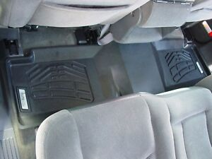 2nd Row Sure Fit Floor Mats 2001 2003 Chevy Silverado Crew Cab