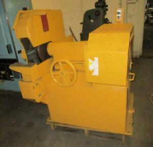 30 Setco model 307 Type 722 50 Heavy duty Foundry Snagging Grinder 28580
