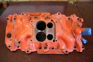 Gm Chevy Big Block 396 427 454 Q jet Intake Manifold Date Code D 10 8