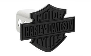 Harley Davidson Black Bar Shield Trailer Hitch Cover Plug