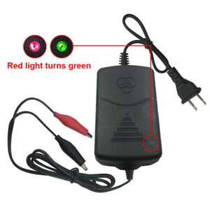 Battery Charger Maintainer Amp Volt Trickle For Car Truck Motorcycle Us Plug