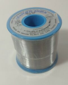 Almit Solder Wire Sn60 pb40 Size 032 1lb High Performance Resin Flux Cored