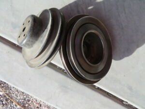1964 65 Pontiac Gto V8 Ac Harmonic Balancer Two Pulley Wheels With Bolts