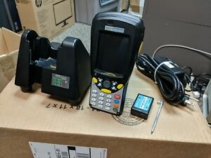 Psion Teklogix Workabout Pro 7525s g1 Barcode Scanner And Dock cradle